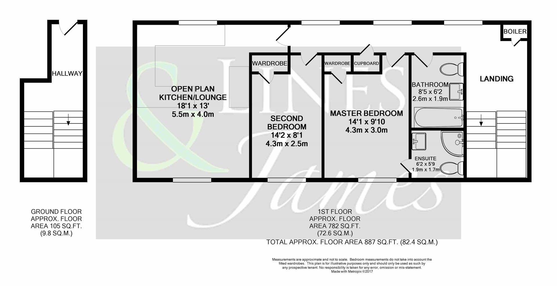 Floorplan for Barttelot Road, Horsham